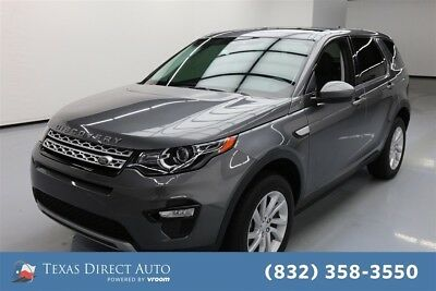 2016 Land Rover Discovery Sport HSE Texas Direct Auto 2016 HSE Used Turbo 2L I4 16V Automatic 4WD SUV Premium