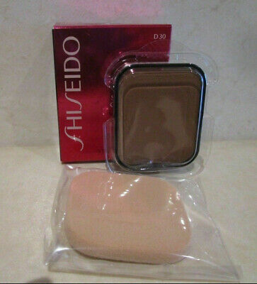 Shiseido Sheer Matifying Compact (Refill) # D30 Very Rich Brown .34 Oz ~ Boxed