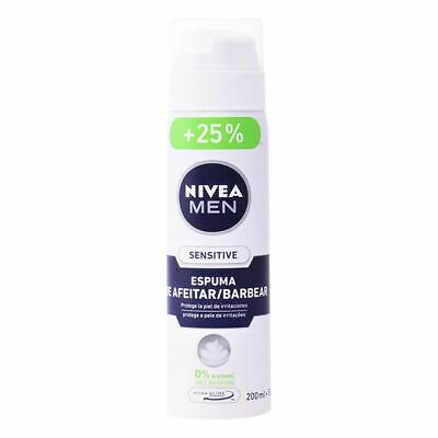 Schiuma da Barba Men Sensitive Nivea Capacità 250 ml