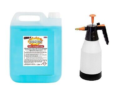 Carburettor Machine Engine Part Cleaner Degreaser Concentrate 5 Ltr + Pump Spray