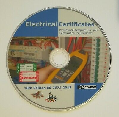 New Electrical Certificates 18th Edition BS7671 2018