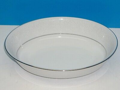 "Contemporary Noritake Fine China TAHOE Pattern 2585, 9 3/4"" Oval Serving Bowl"