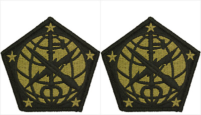 2 Pack U.S. Army 704th Military Intelligence Brigade OCP Hook Military Patches