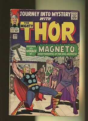 Journey Into Mystery 109 FN 5.5 * 1 Book Lot * Thor! X-Men! Magneto! Lee & Kirby