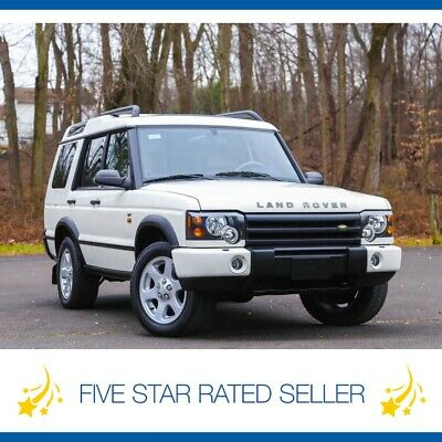 2004 Land Rover Discovery SE7 Diff Lock 3rd Row Low 83K mi Serviced CARFAX 2004 Land Rover Discovery SE7 Diff Lock 3rd Row Rear AC Serviced CARFAX