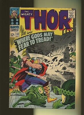 Thor 132 FN+ 6.5 * 1 Book Lot * 1st Ego, Grand Commissioner, Black Galaxy & More