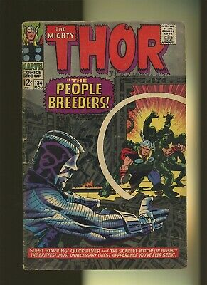 Thor 134 VG/FN 5.0 *1 Book* 1st High Evolutionary & More! Stan Lee & Jack Kirby!