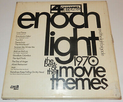 ENOCH LIGHT Best Of Movie Themes QUADRAPHONIC QUAD REEL-TO-REEL TAPE Project 3