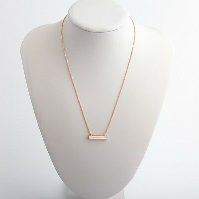 5f9cc9313f764 NEW KENDRA SCOTT Leanor Rose Gold Pendant Necklace In Ivory Pearl