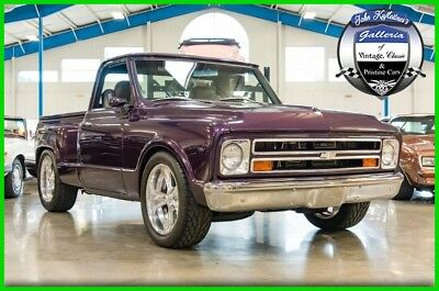 1968 Chevrolet C10 C10 Pro Touring Truck ZZ502 V8 Short Bed C-10 C/K 1968 Chevrolet C10 ZZ 502 V8 Automatic Pro Touring Used Automatic RWD 68