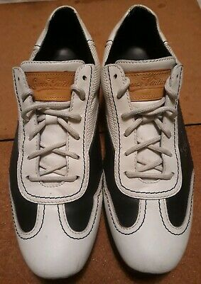 c27274283a85 Louis Vuitton Leather Sneaker Navy white Sports Shoes Mens 8.5 italy   9 us