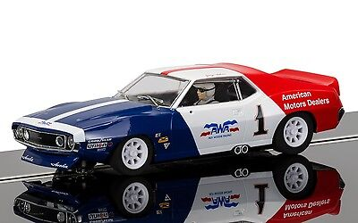 Scalextric Slot Car AMC Javelin TRANS AM No.1 C3875