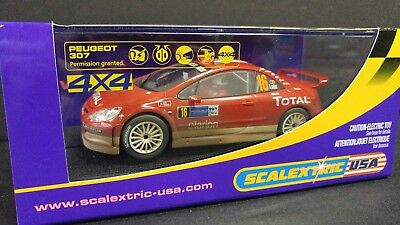 ** SPECIAL** Scalextric Slot Car Weathered Peugeot 307 4 x 4 C2561