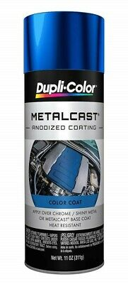 Duplicolor MC201 BLUE Paint  MetalCast Anodized Coating 11 Oz. High Temp