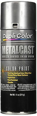 Duplicolor  MC206 Smoke Paint Metal Cast Anodized Coating 11 Oz. High Temp
