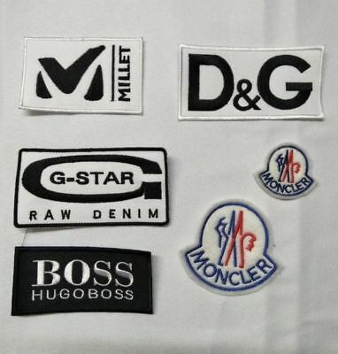 Ecusson Patch G-Star Dolce Gabbana Hugo Boss Gstar D&g Millet