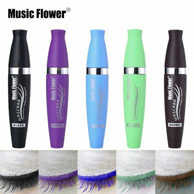 Fashion Color Women Mascara Waterproof Fast Dry Eyelashes Curling Mascara I↔
