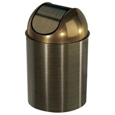 Small Trash Can With Lid Bedroom Room Bathroom Waste Umbra Swing Top
