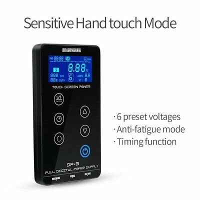 High Quality Tattoo Power Supply Touch Screen Intelligent Digital LCD Dual A▩