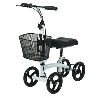 ELENKER Steerable Knee Walker Foldable Scooter Medical Crutch Alternative USA