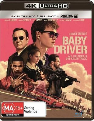 Baby Driver 4K Blu-Ray UHD : NEW 4K Ultra HD