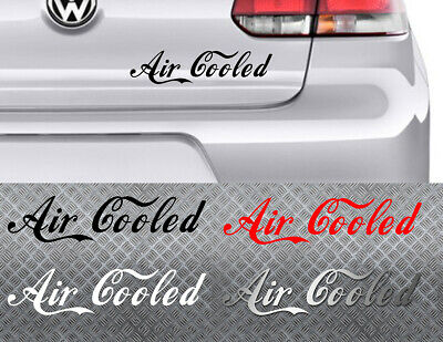 STICKER AIR COOLED COCA STYLE VW DUB BOMB COMBI COX GOLF 25cm AUTOCOLLANT AA150