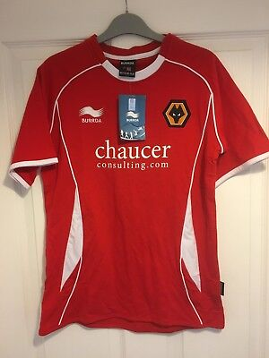 2010 2011 Wolverhampton Wanderers training shirt Puma BNWT Wolves XL boys 939fb02e2