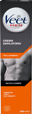 crema depilatoria uomo Veet For Men Crema Depilatoria - Pelli Normali