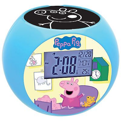Peppa Pig Projector Radio Alarm Clock By Lexibook Kids