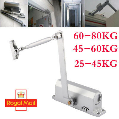 Adjustable 45~80KG FIRE RATED Overhead Door Closer Opener Automatic & Soft Close