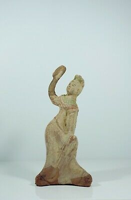 A Clay Figure of Dancing Lady