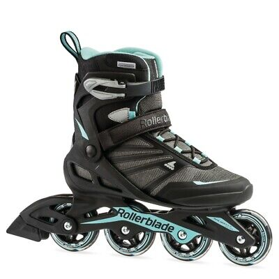 Rollerblade Zetrablade Women's Inline Skates - Black / Light Blue
