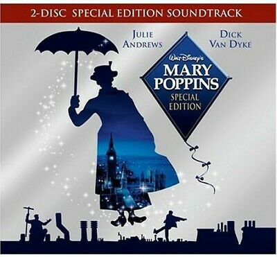 Soundtrack: Julie Andrews - Mary Poppins (1964) (2 Disc CD + CD-ROM) CD NEW