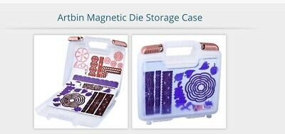 Artbin Magnetic Die Storage Case With 15 Magnetic Sheets.