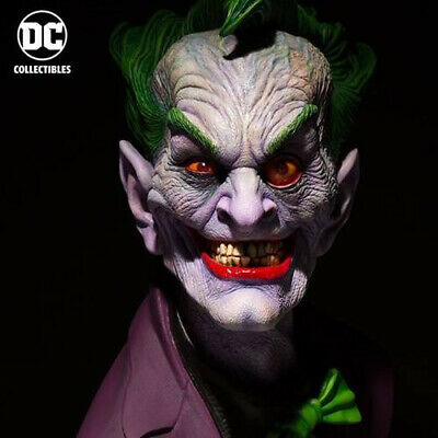 DC COMICS Joker Life-Size 1:1 Scale Bust by Rick Baker NEW SEALED