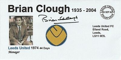 20 Sept 2004 Brian Clough In Memoriam As Leeds United Manager Football Cover