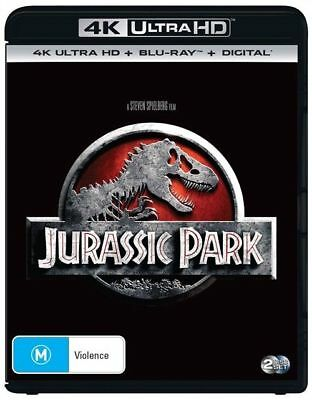 Jurassic Park 4K Ultra HD : NEW UHD Blu-Ray