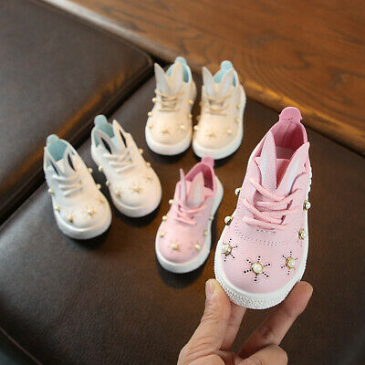 Toddler Princess Shoes for Baby Girl Casual Shoes Kids Children Sneakers Flats
