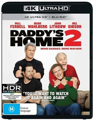 Daddy's Home 2 - 4K Ultra HD : NEW UHD Blu-Ray