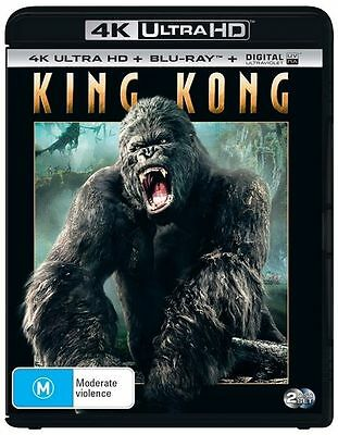 King Kong 4K Ultra HD : NEW UHD Blu-Ray