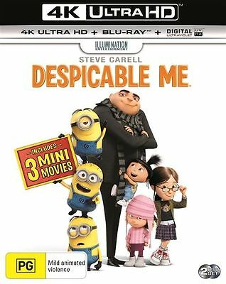 Despicable Me 4K Ultra HD : NEW UHD Blu-Ray