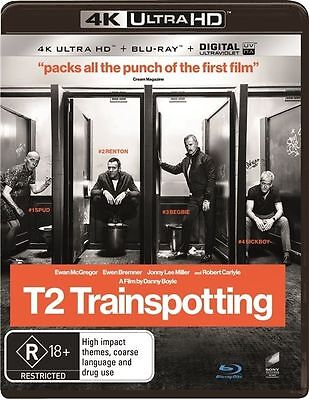 T2 Trainspotting 4K Ultra HD : NEW UHD Blu-Ray