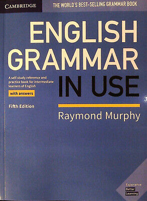 Cambridge ENGLISH GRAMMAR IN USE with Answers FIFTH Edition | R Murphy @NEW@