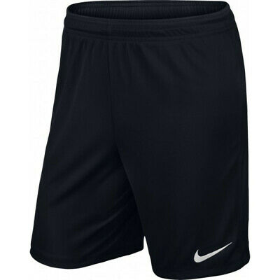 Nike Park Ii Knit Football Shorts Black Sizes Lb (12/13) & Xlb (13/15) Bnwt