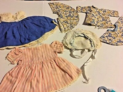 Vintage Collectible Dress Doll Clothes 6 pc Lot #3. 1950's SKU 067-011