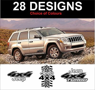 Car Exterior Styling Badges, Decals & Emblems Jeep Grand Cherokee ...