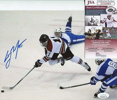 0f7d23f55 Casey Mittelstadt Buffalo Sabres JSA signed 8x10 authenticated photo  autograph