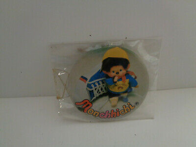 Vintage ANSTECKER MONCHHICHI MADE IN JAPAN  70/80er Jahre