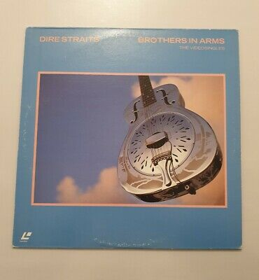 Dire Straits BROTHERS in Arms The Videosingles LaserDisc Vers.NTSC ptint  Japon