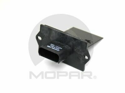 MOPAR Blower Motor Resistor Rear New Town and Country Dodge Grand RU-490